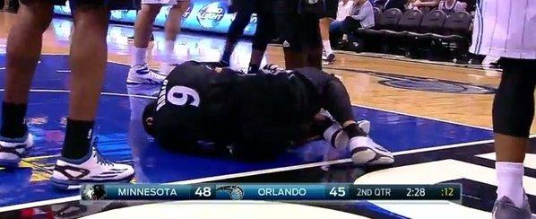 ricky lesión